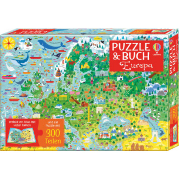 Puzzle   Buch: Europa