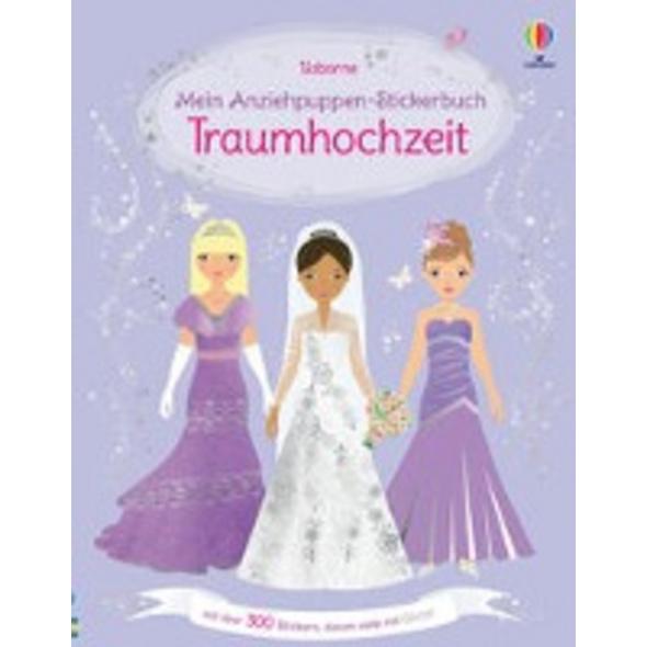 Mein Anziehpuppen-Stickerbuch: Traumhochzeit