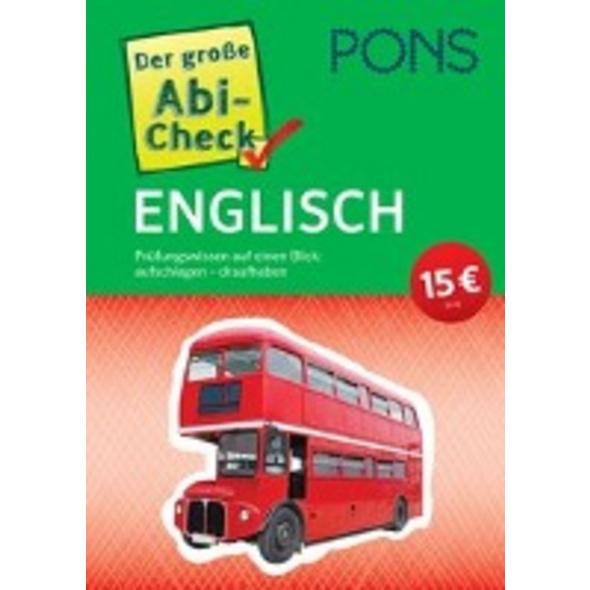 PONS Der große Abi-Check Englisch