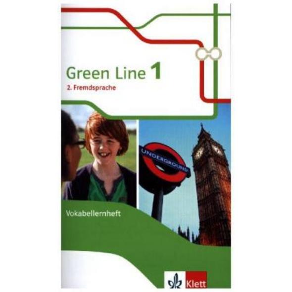 Green Line 1. 2. Fremdsprache. Vokabellernheft Kla