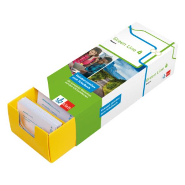 Klett Green Line 4 Bayern Klasse 8 Vokabel-Lernbox
