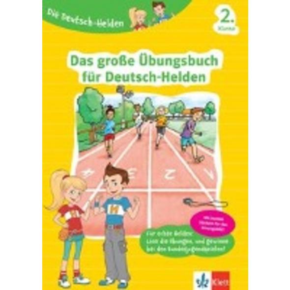 Die Deutsch-Helden Das große Übungsbuch für Deutsc