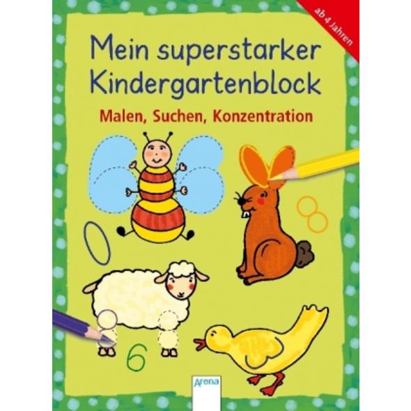 Mein superstarker Kindergartenblock.