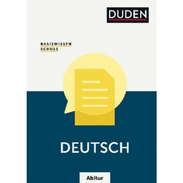 Basiswissen Schule - Deutsch Abitur