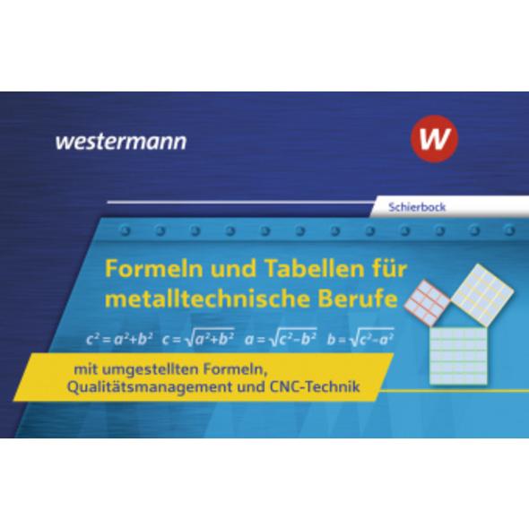 Formeln und Tabellen für metalltechnische Berufe m