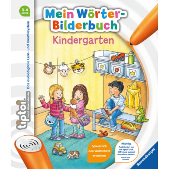 tiptoi  Mein Wörter-Bilderbuch Kindergarten