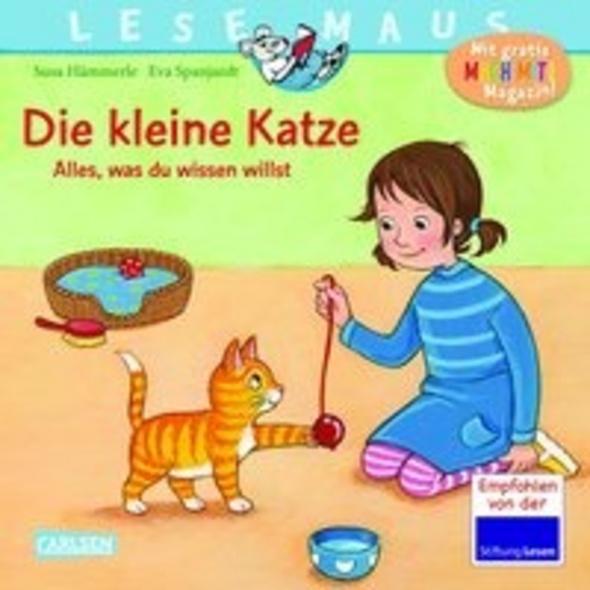 LESEMAUS 175: Die kleine Katze - alles, was du wis