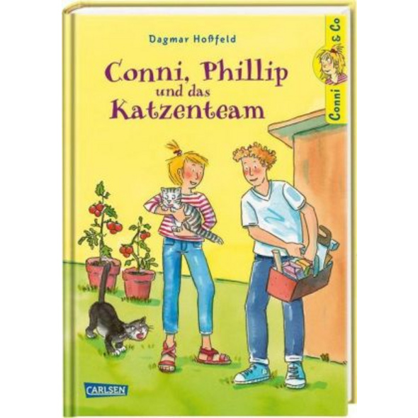 Conni   Co 16: Conni, Phillip und das Katzenteam