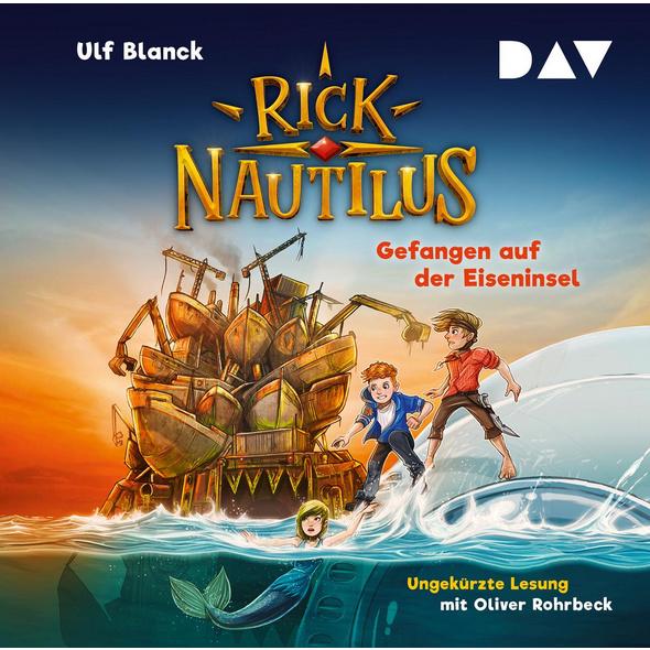 Rick Nautilus - Teil 2: Gefangen auf der Eiseninse