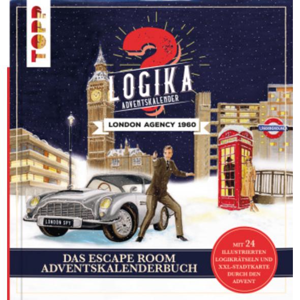 Logika Adventskalenderbuch - London Agency 1960: M