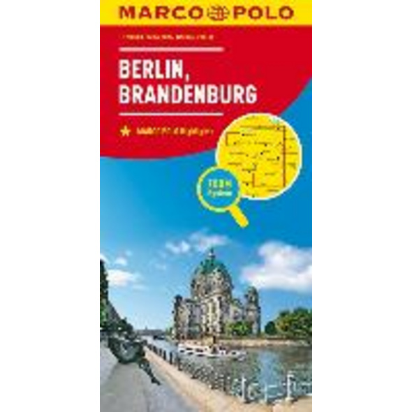 MARCO POLO Karte Deutschland Blatt 4 Berlin, Brand