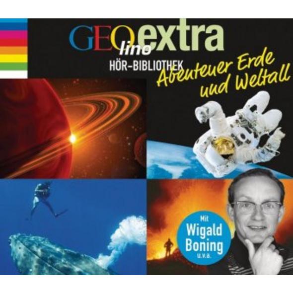 GEOlino extra Hör-Bibliothek - Abenteuer Erde und