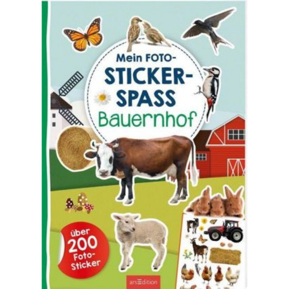 Mein Foto-Stickerspaß - Bauernhof