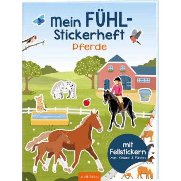 Mein Fühl-Stickerheft - Pferde
