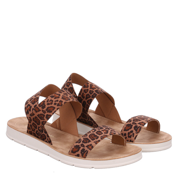 Lieblingspaar Beige Sandaletten braun Damen