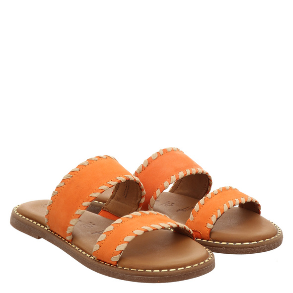 Tamaris Rot (gr. 42) Pantoletten orange Damen
