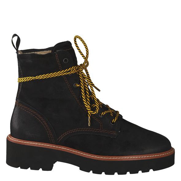 Paul Green 9715 Stiefel Kurz schwarz Damen