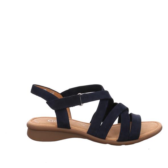 Gabor Lady (gr. 5½) Sandaletten blau Damen
