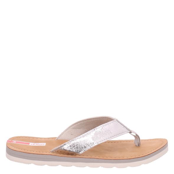 S.oliver Schuhe S.oliver Schuhe (gr. 41) Pantoletten silber Damen