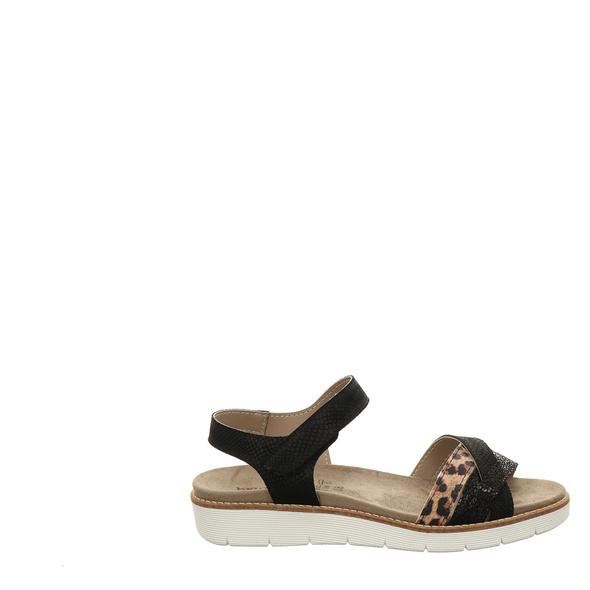 Van Der Laan Sandaletten schwarz Damen