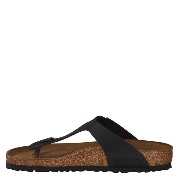 Birkenstock Gizeh Bs[zehensteg] Fußbettschuhe schwarz Herren