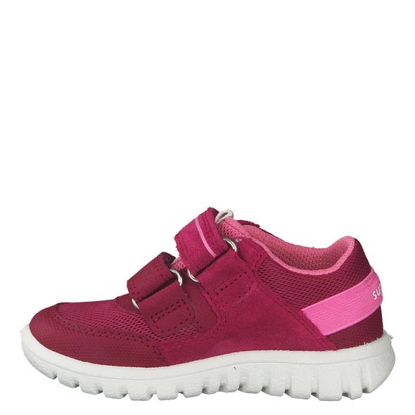 Superfit Rot (gr. 24) Halbschuhe pink Mädchen