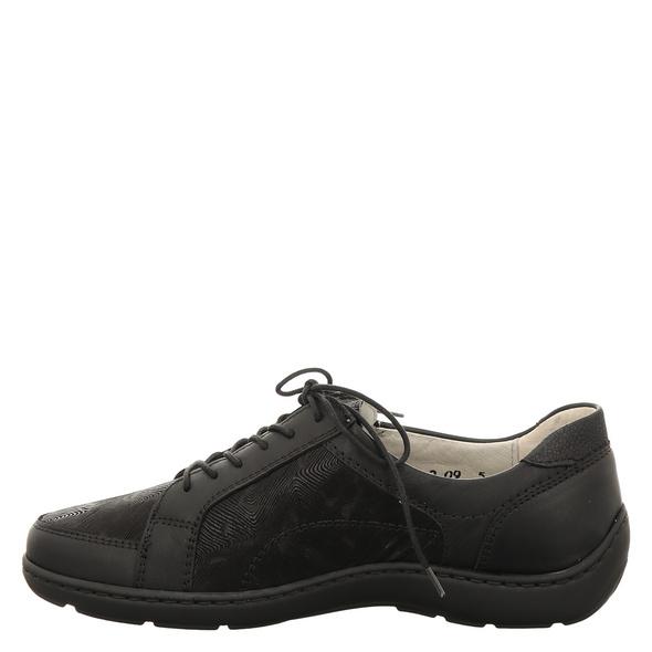 Waldläufer Henni Sneaker schwarz Damen