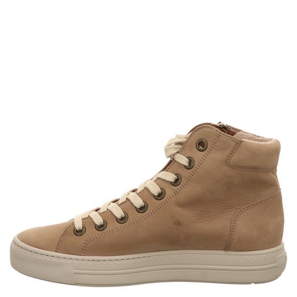 Paul Green 0069-4024-079/hightop-pauls Sneaker beige Damen