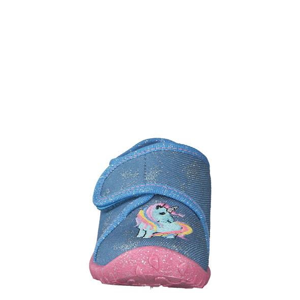 Superfit (gr. 24) Hausschuhe blau Mädchen