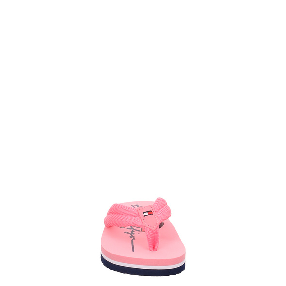 Elisabet Rot (gr. 26) Pantoletten pink Mädchen
