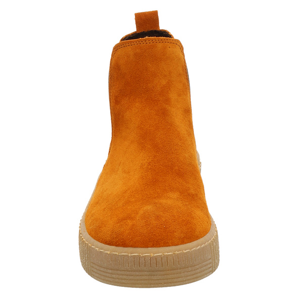 Gabor Rot Stiefel Kurz orange Damen