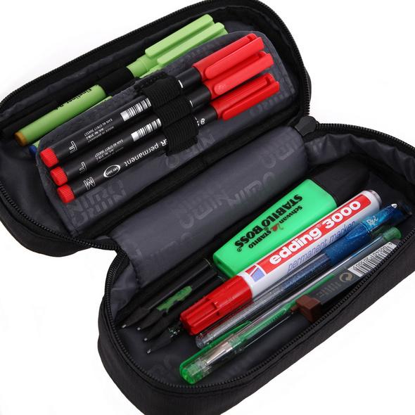 Nitro Schlampermäppchen Pencil Case plaid/red/blue