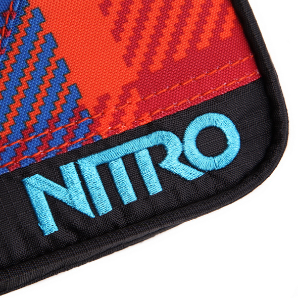 Nitro Schlampermäppchen Pencil Case plaid/red/blue
