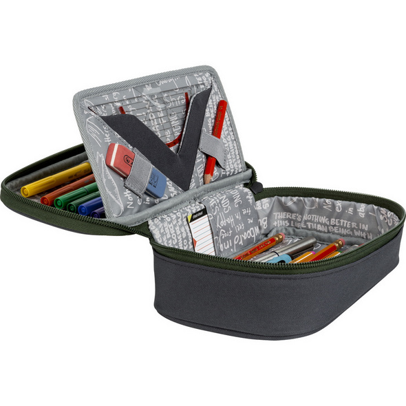 Nitro Schlampermäppchen Pencil Case XL black rose