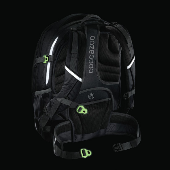coocazoo Ergänzungsset MatchPatch Special glow black