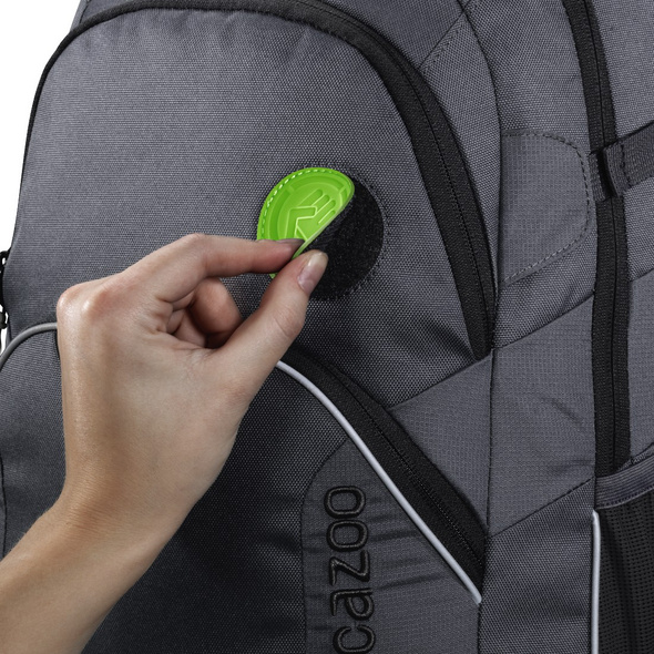 coocazoo Ergänzungsset MatchPatch Special transuclent green