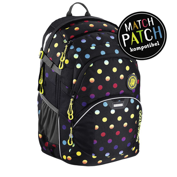 coocazoo Schulrucksack JobJobber 2 Match Patch 30l magic polca colorful