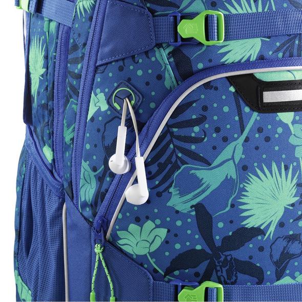 coocazoo Schulrucksack ScaleRale tropical blue