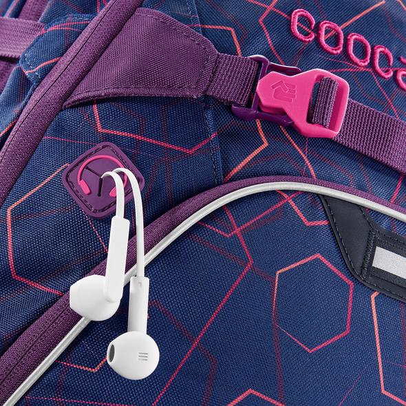 coocazoo Schulrucksack ScaleRale laserbeam plum