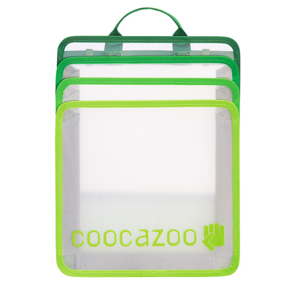 coocazoo Heftebox faltbar CheckBag green
