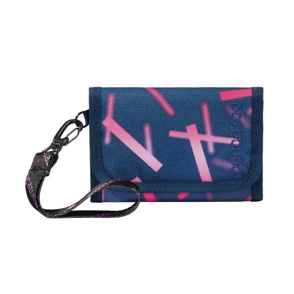 coocazoo Klettverschlussbörse AnyPenny cyber pink