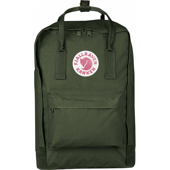 "Fjällräven Laptop Rucksack Kanken 15"" Forest Green"