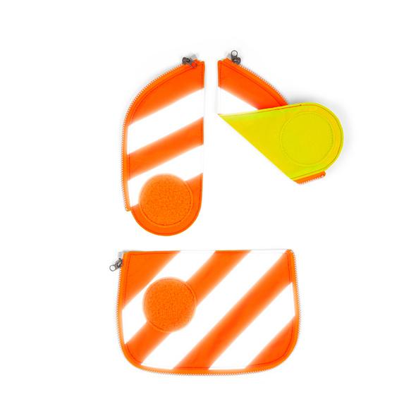 Ergobag Sicherheitsset mit Reflektorstreifen Cubo (2018) orange