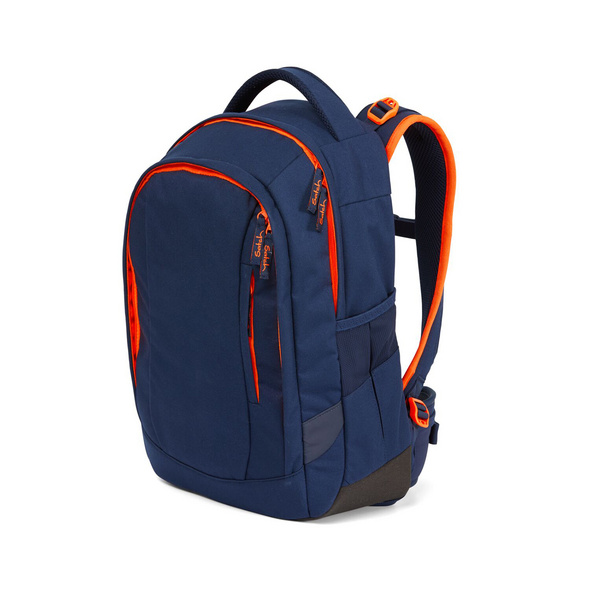 Satch Schulrucksack Sleek 24l toxic orange