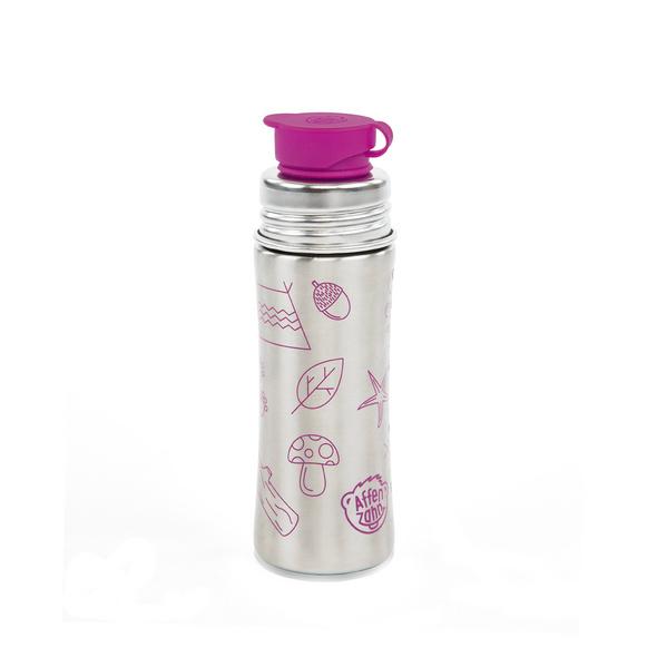 Affenzahn Trinkflasche 0,33l lila