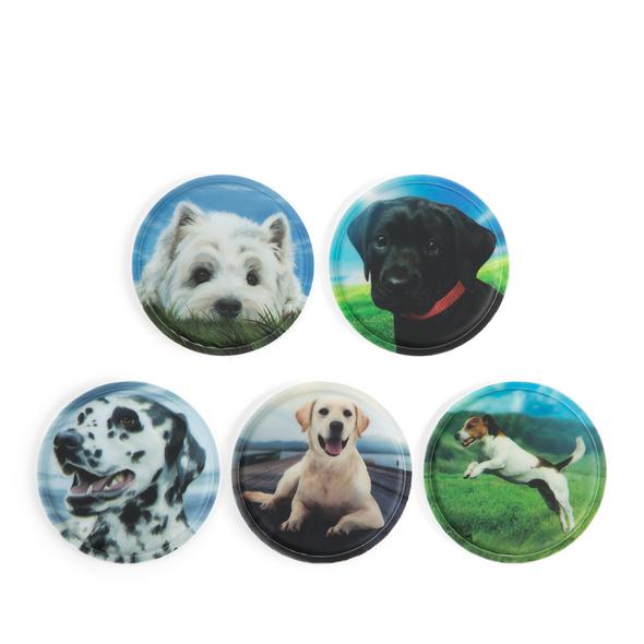 Ergobag Klettie-Set 5tlg. Hunde