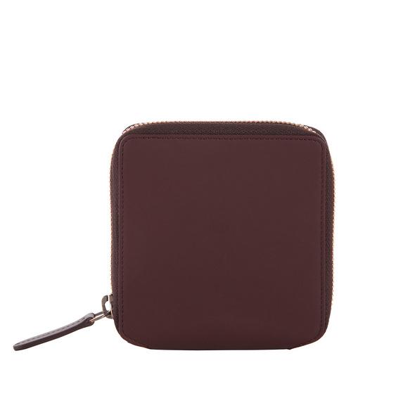 Klatta Offermann Portmonee Damen Wallet Zip maroon brown