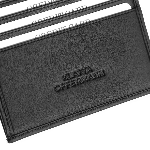 Klatta Offermann Kleinbörse Bifold Wallet S silber