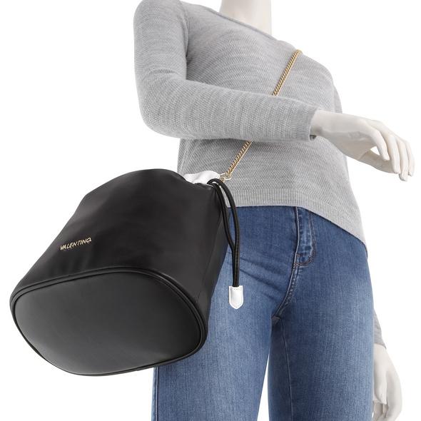 Valentino Bags Beuteltasche Pakita nero/bianco