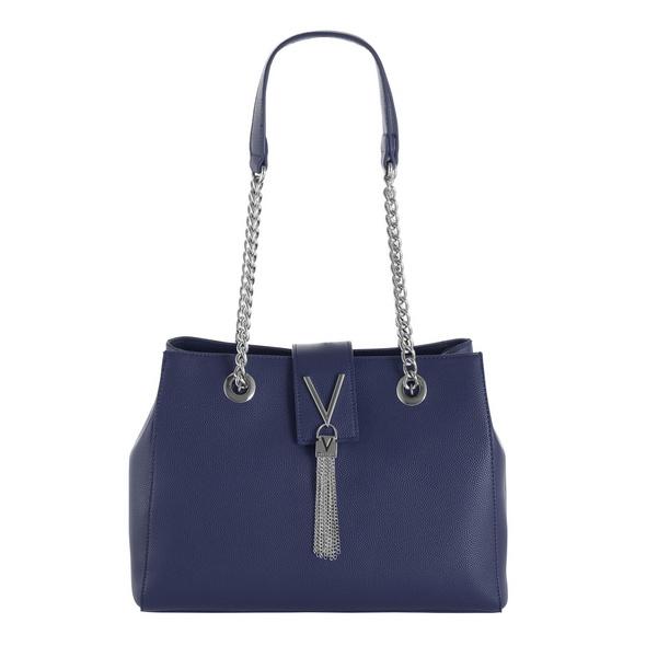 Valentino Kurzgriff Tasche Divina VBS/1R406G dunkelblau